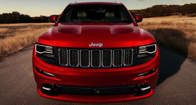 grand cherokee front