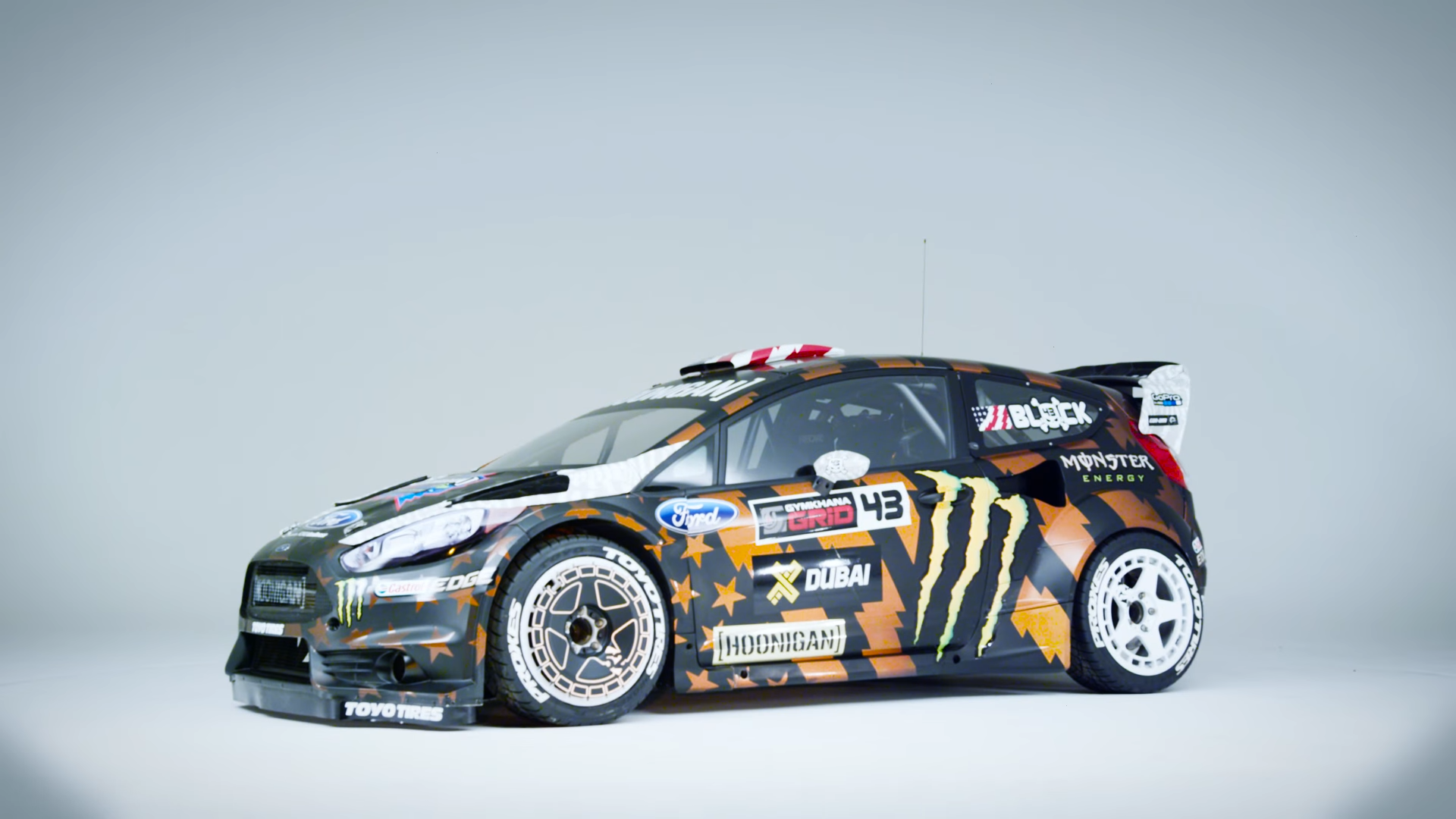 Ford Mustang Shoes >> Ken Block Shows Off His New 650hp Fiesta ST Used In Upcoming Gymkhana 8 - Moto Networks