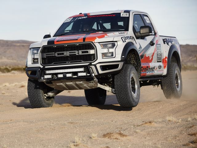 Ford Built a Racing Raptor, And It Sounds Terrible