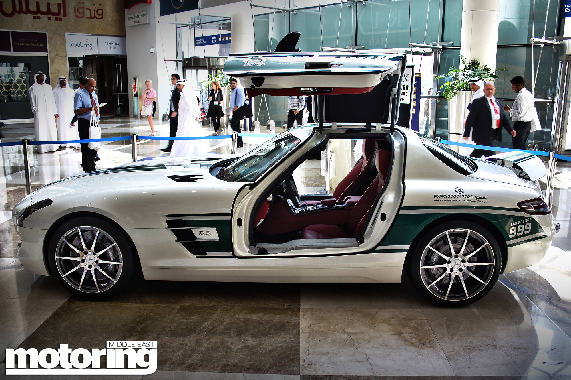 Mercedes-Benz SLS AMG  PHOTO: sports24seven