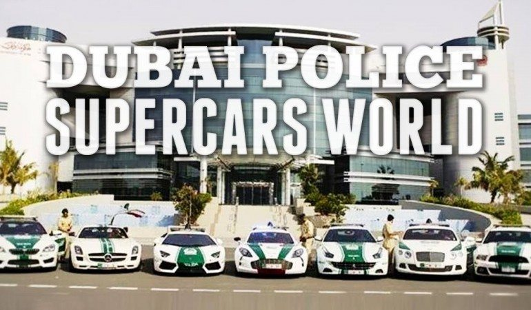 The Supercar Police of Dubai
