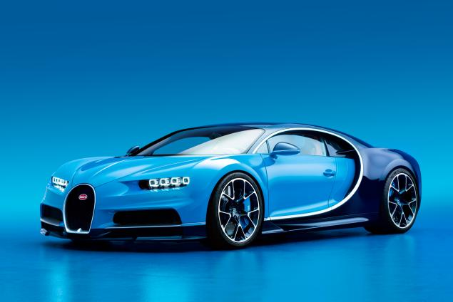 The New Bugatti Chiron Is Finally Here