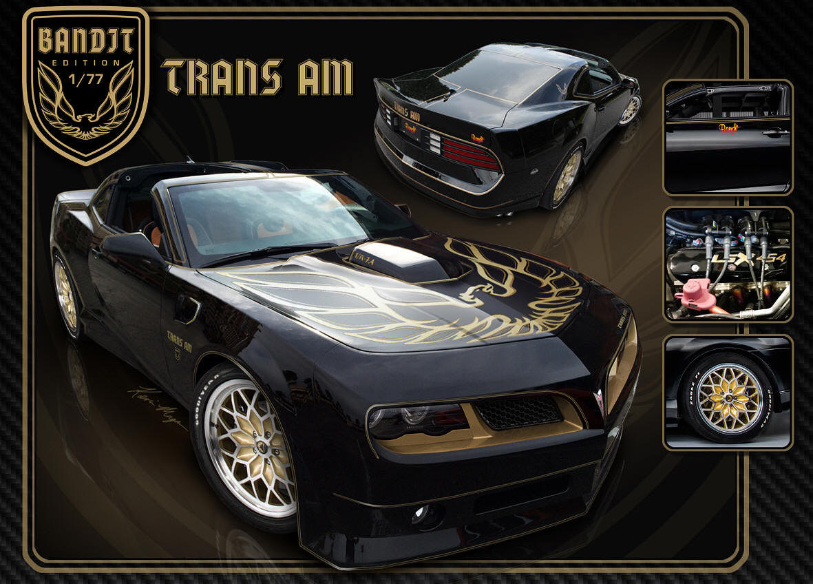 The New 840hp Bandit Trans AM PHOTO: GuysGab