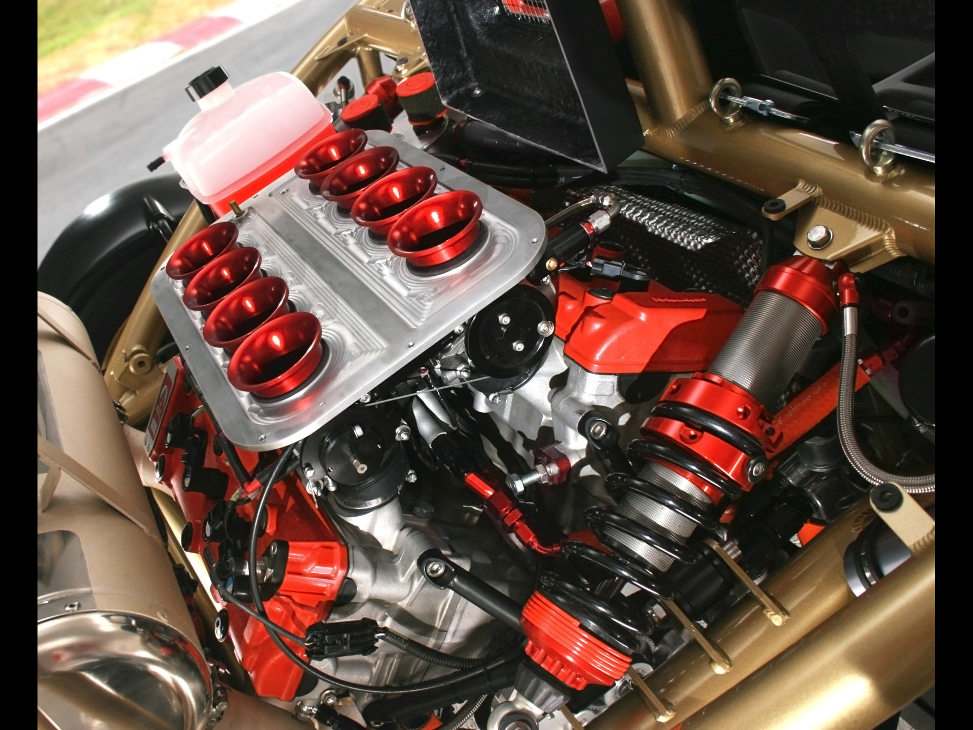 The Atom V8 engine PHOTO: SeriousWheels