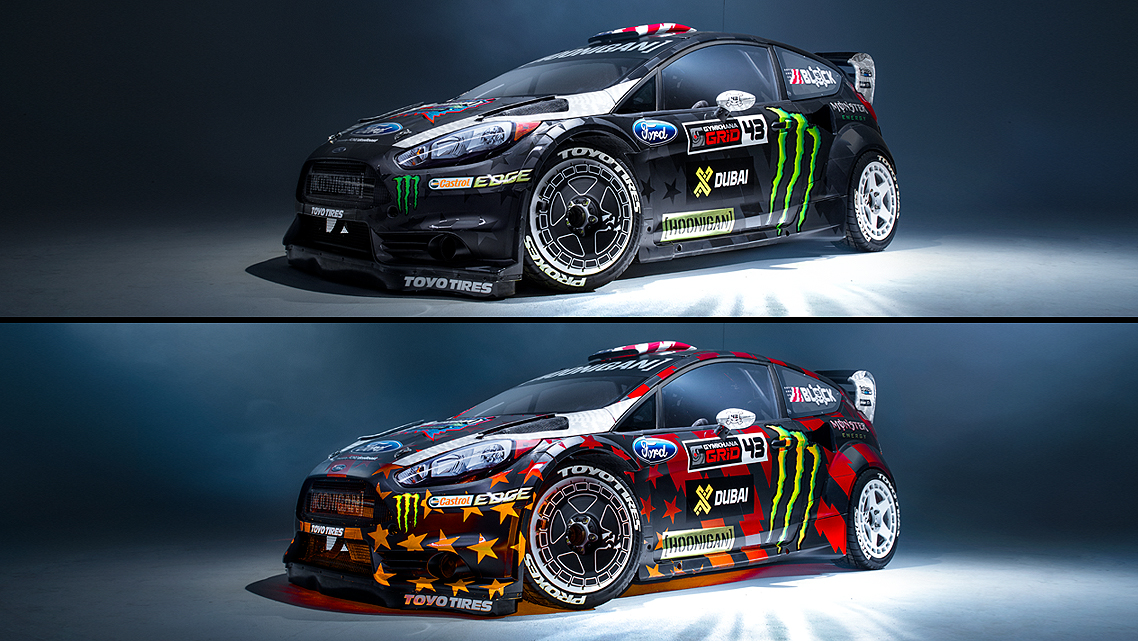 Gymkhana 8 Livery  PHOTO: Hoonigan Racing