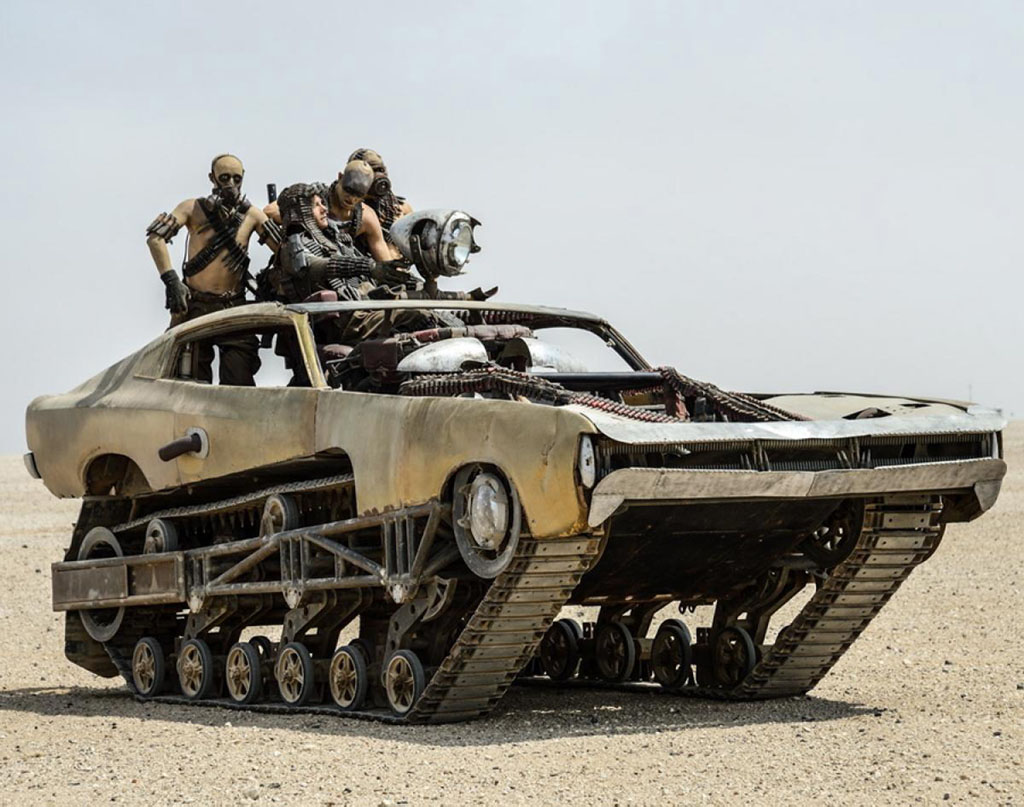 The Ripsaw EV1 played a role in the last Mad Max Film PHOTO: Autosupermarket