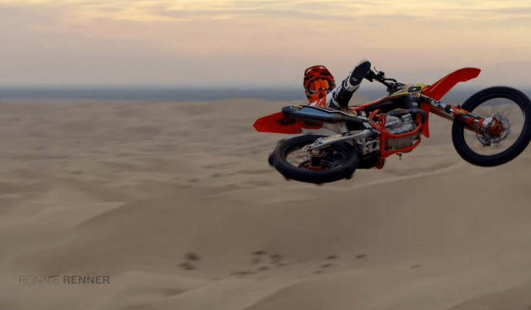Ronnie Renner Puts On A Show At The Idaho Sand Dunes with GoPro POV And 360
