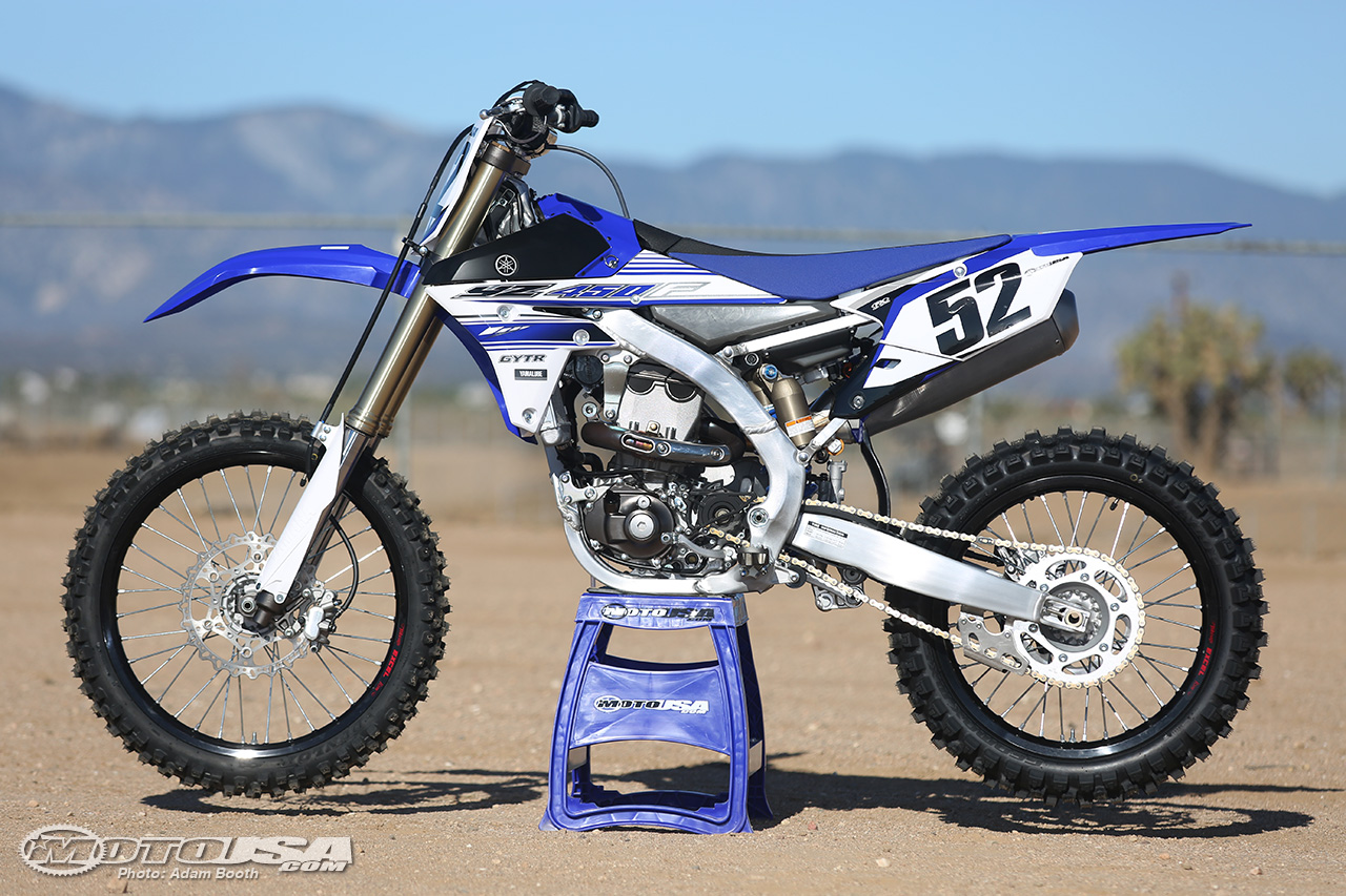 2016 YZ450F 4-stroke Photo:motorcycle-usa