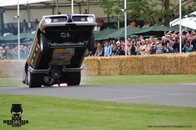 Hemi Under Glass at the Goodwood Festival of Speed Photo: dragzine