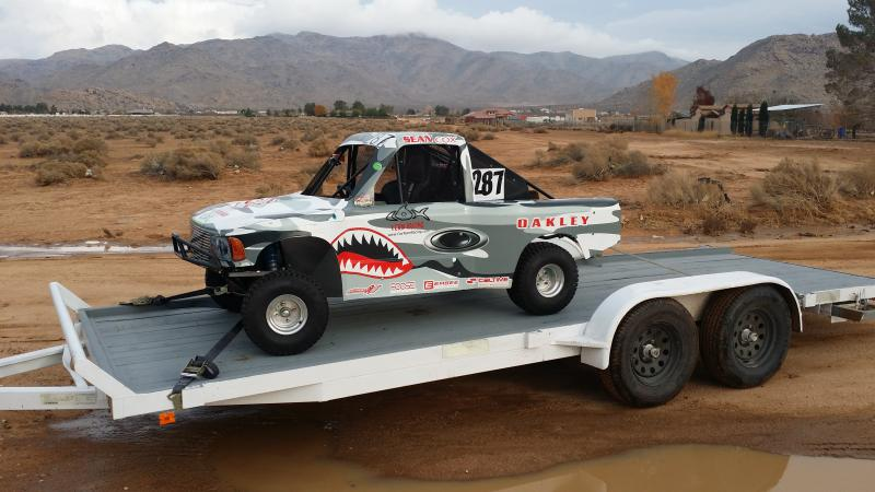 Example Of A Trophy Kart On Trailer To Show Size Photo Pirate4x4