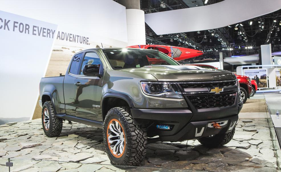 The 2017 Chevy Colorado Zr2 Spied Could This Be A