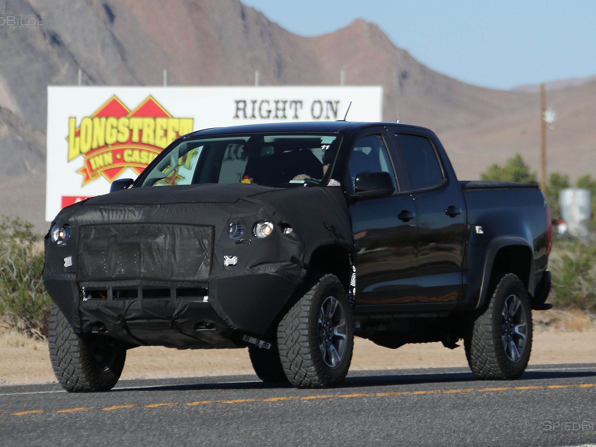 The 2017 Chevy Colorado ZR2 Spied, Could This Be A ...