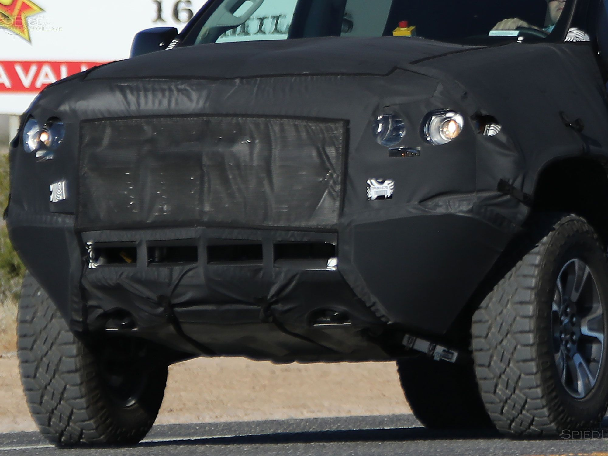 The 2017 Chevy Colorado ZR2 Spied Could This Be A Potential Raptor