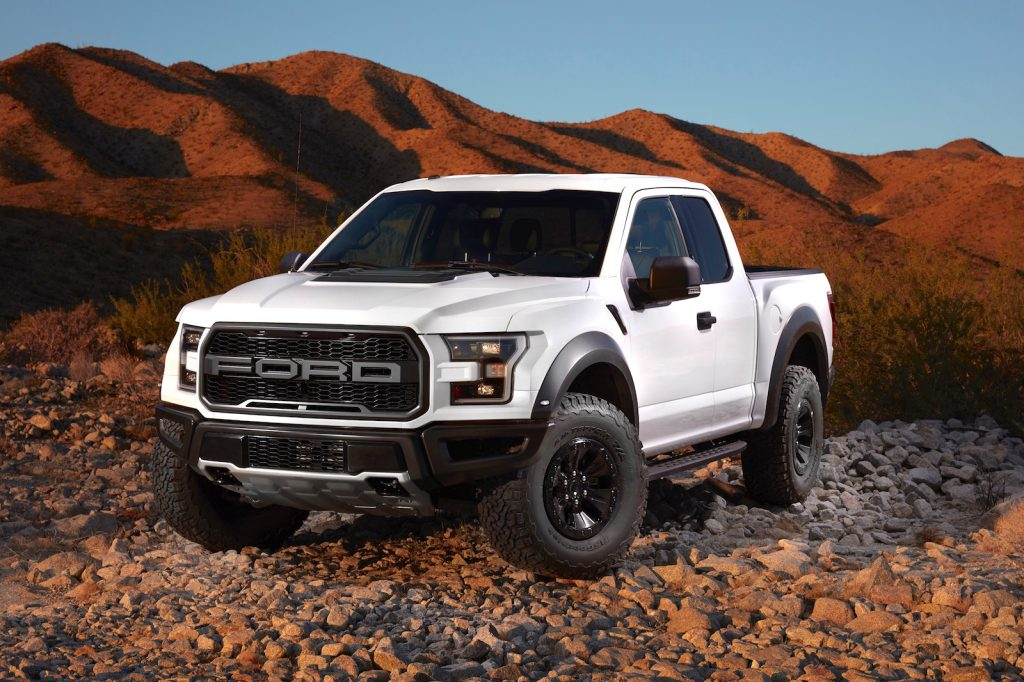 2017 Ford Raptor Supercab Photo: tfltruck