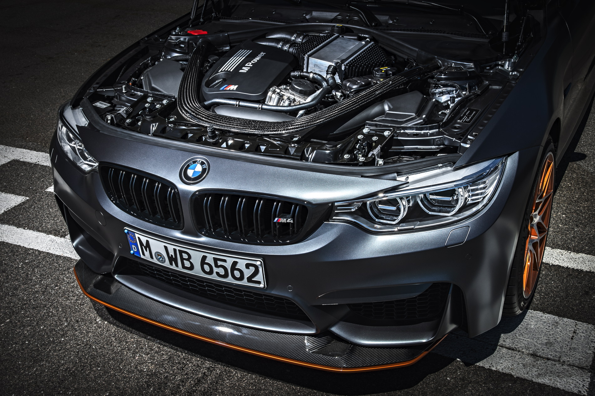 BMW M4 GTS 493hp 3.0L Turbo Six Photo: bmwblog