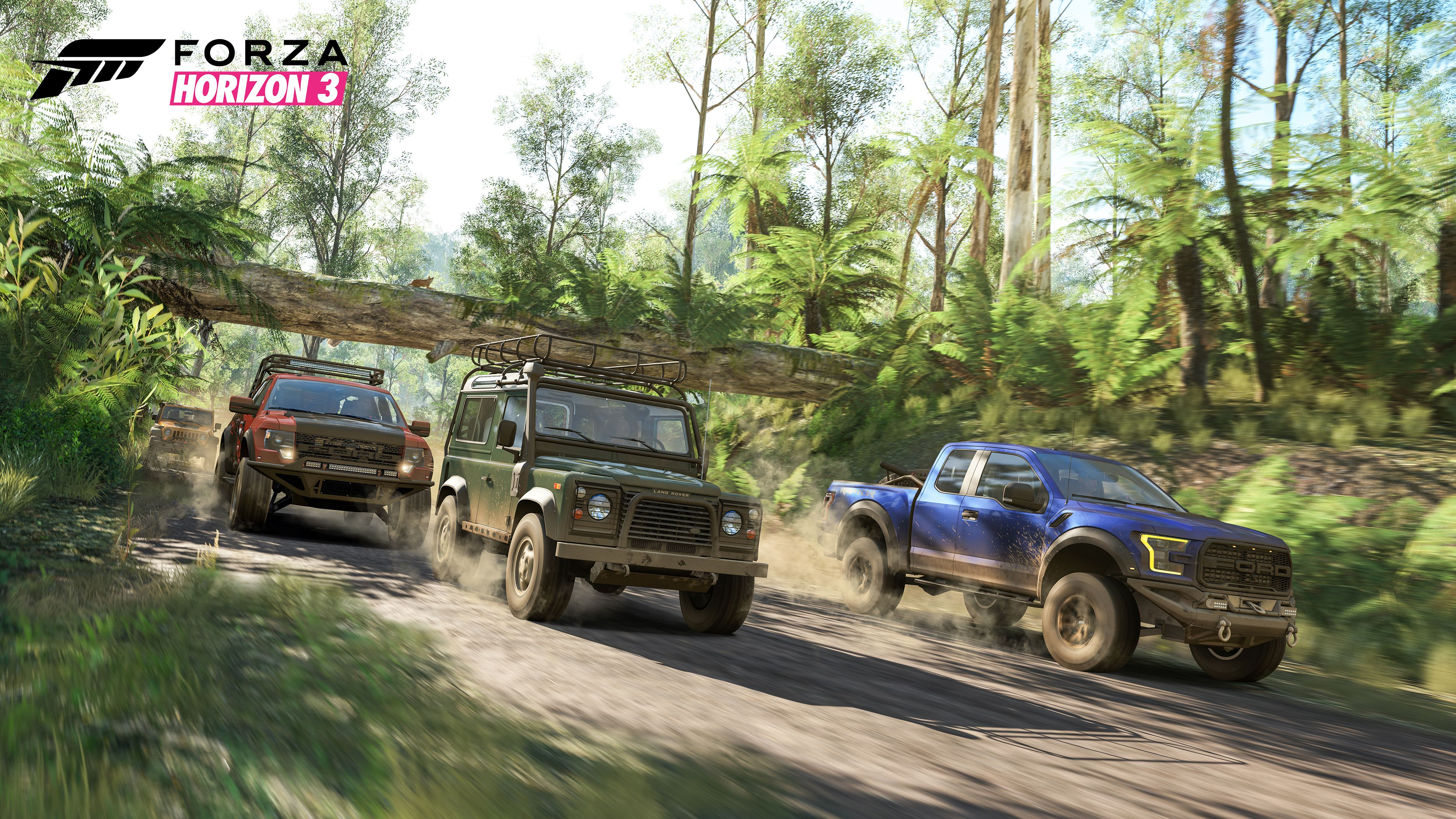 Check out the first and second gen Raptors! Photo: hdwallpapers