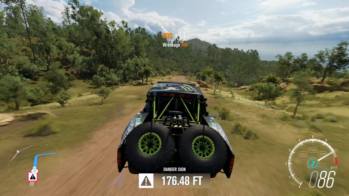 BJ Baldwins old Trophy Truck actual game play footage. Photo: windowscentral