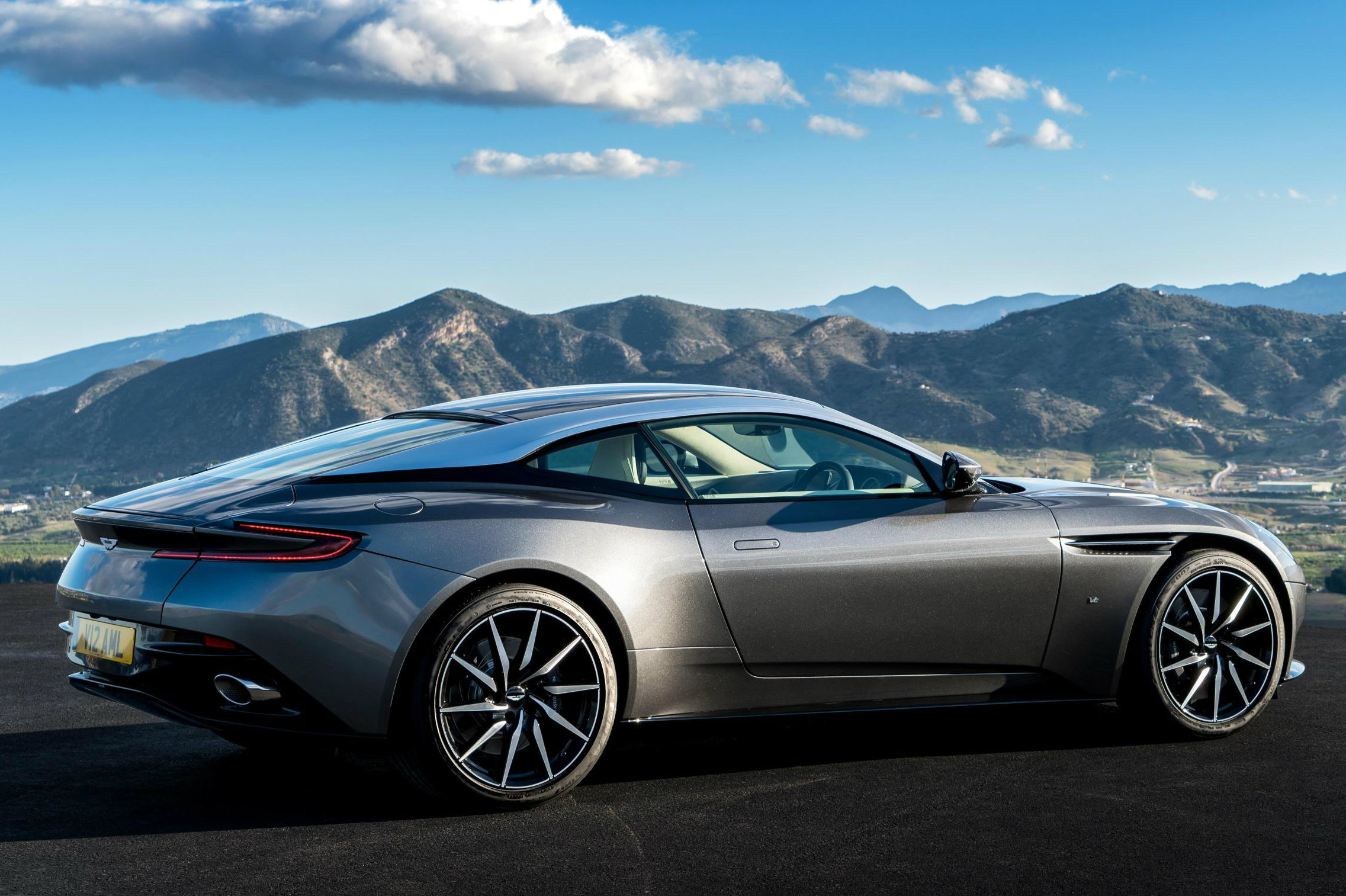 See The New Aston Martin DB11 In Action Moto Networks