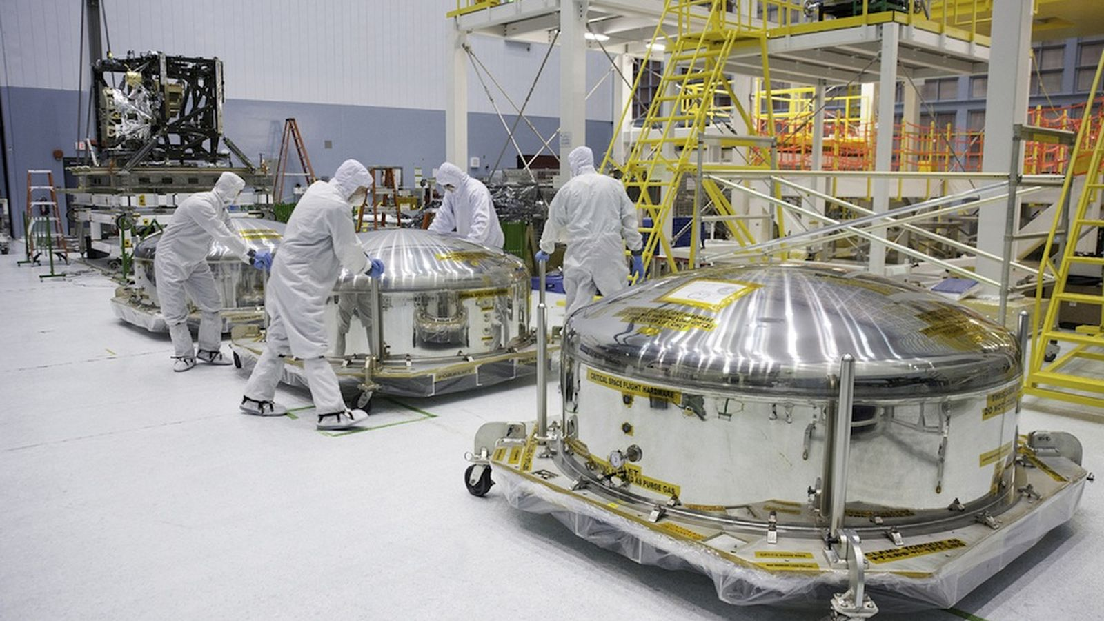 Example of a clean room Photo: theverge