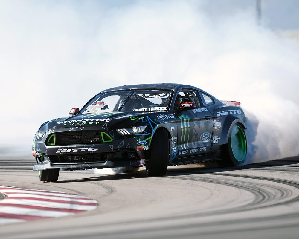Vaughn Gittin Jr's RTR Mustang Photo: knfilters