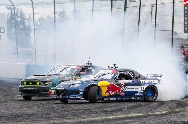Old Photo of Whiddet and Gittin Jr competing  in 2015  Photo: superstreetonline