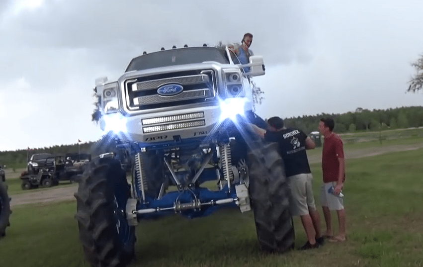 This million dollar monster ford mud truck doesnt make sense photo fordtrucks sciox Images