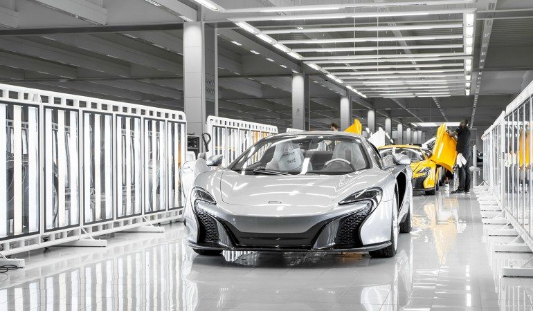 McLaren Factory Photo: digitaltrends