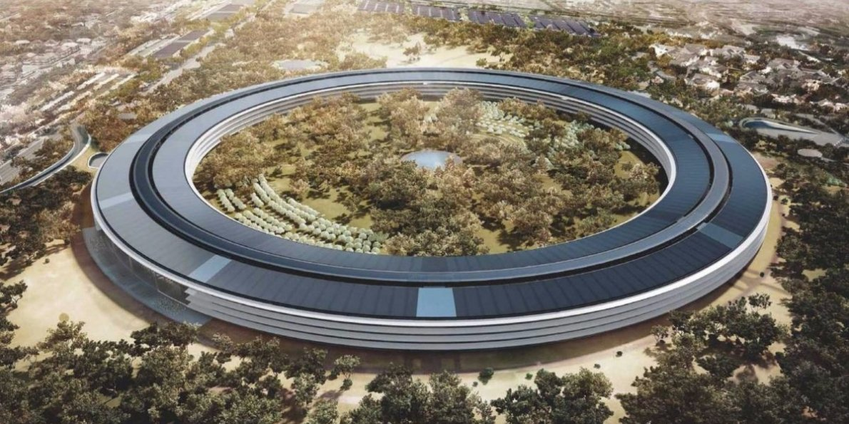 Rendering of the Apple Campus 2  Photo: businessinsider