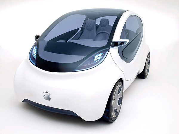 Rendering of potential design of Apple car Photo: technobuffalo