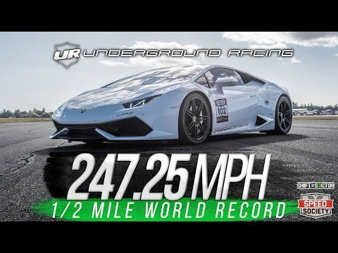 Underground Racing Does It Again With New 1/2 Mile World Record