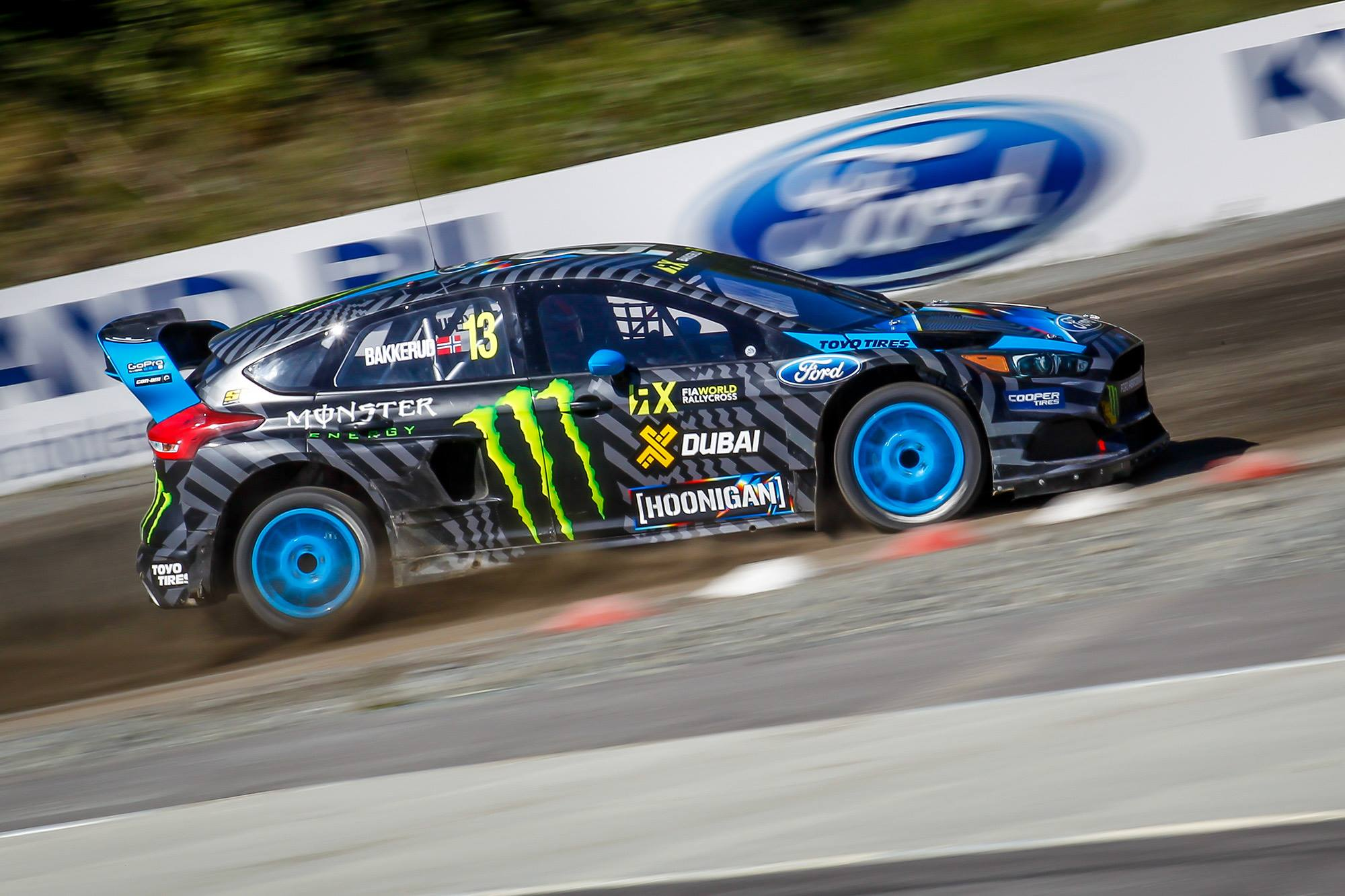 Andreas Bakkerud and his Focus RS RX Photo: focusforum