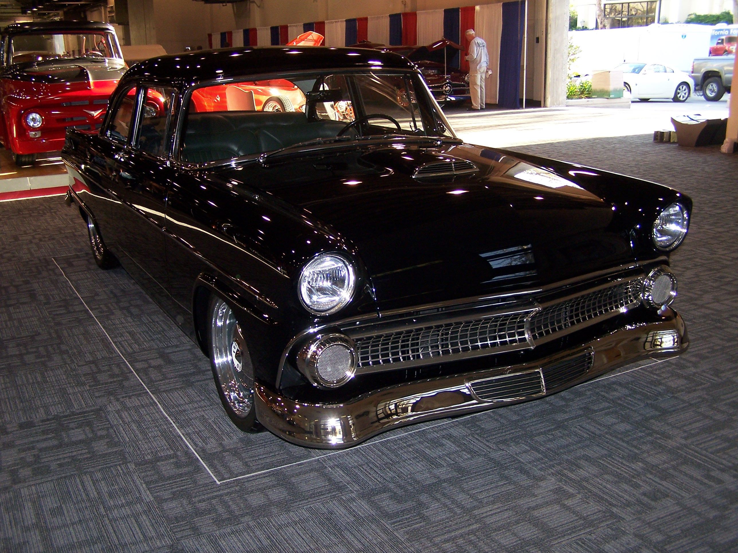 Allen's 1955 Ford Club Coupe Photo: hotrod
