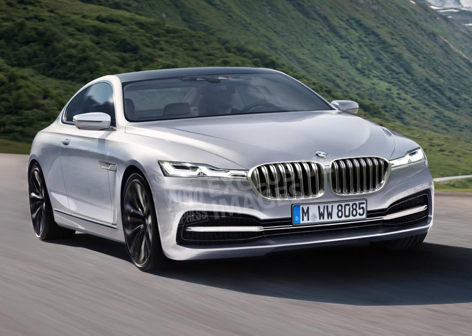 Different rending of potential 8 series Photo: autoexpress
