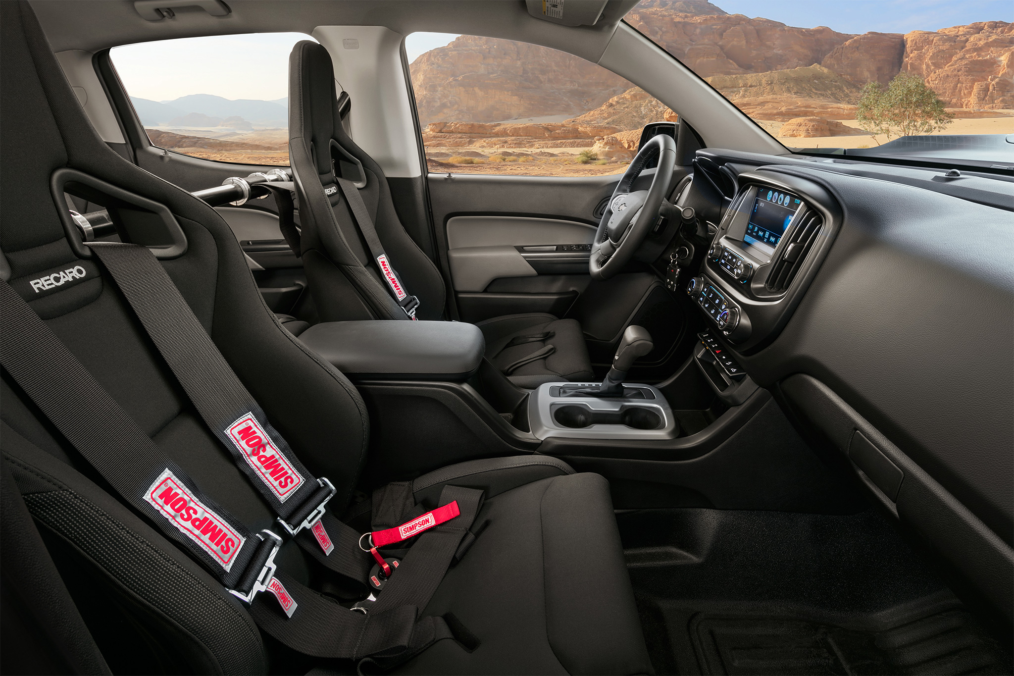 Upgraded five-point harness Photo: motortrend