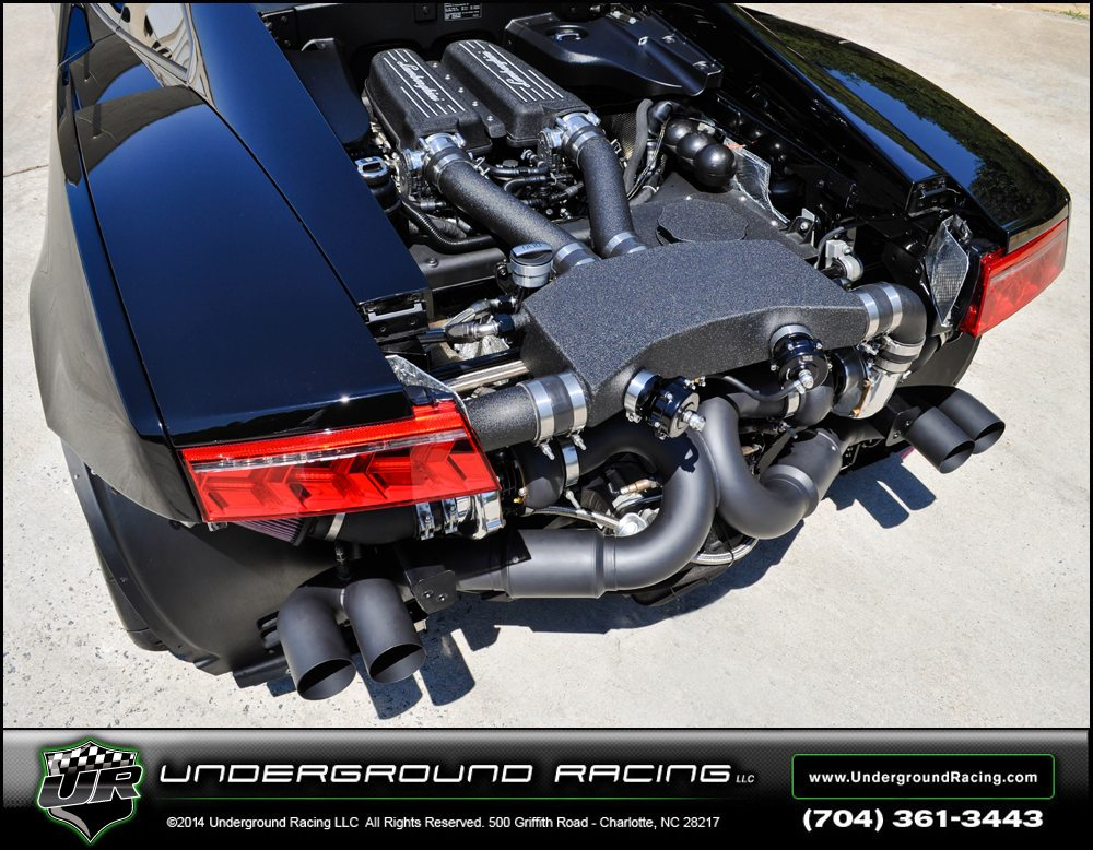How about that for a twin turbo system Photo: undergroundracing