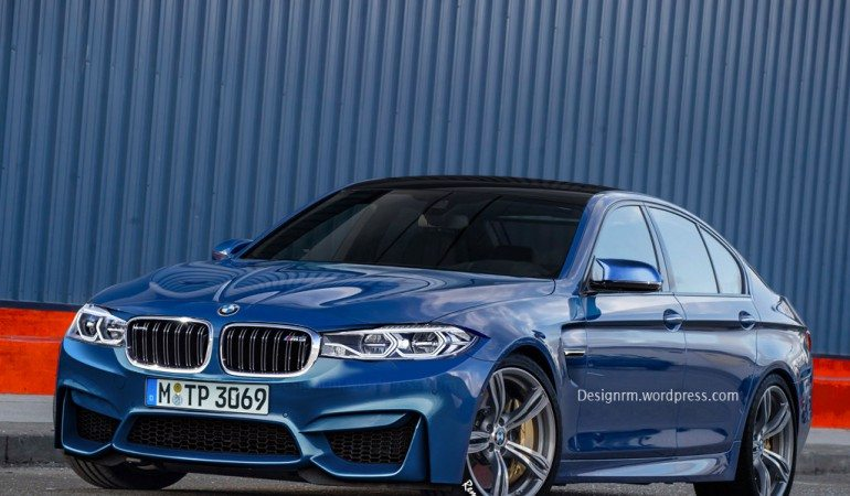 Artist rendering of what the new M5 could look like Photo: bmwblog