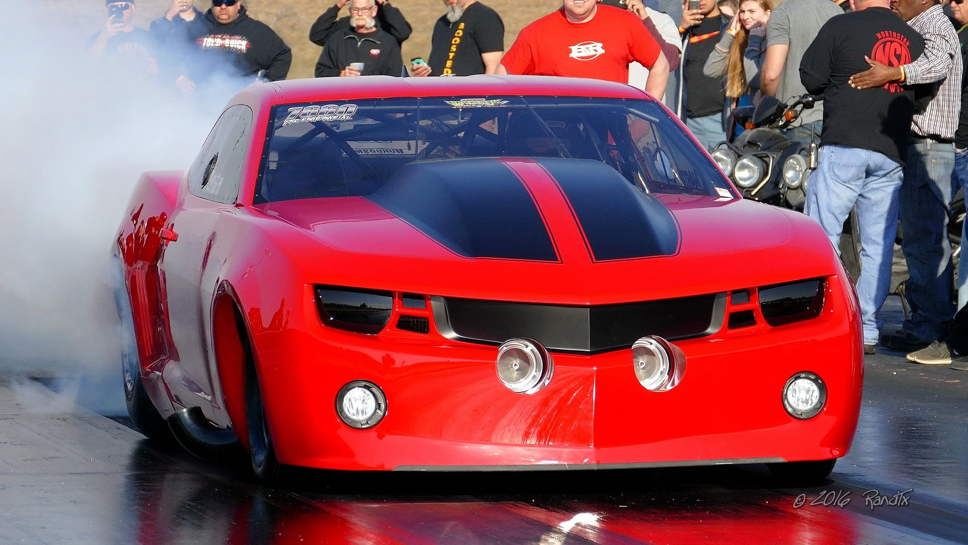 The 3500hp Firebal Drag Car Photo: youtube