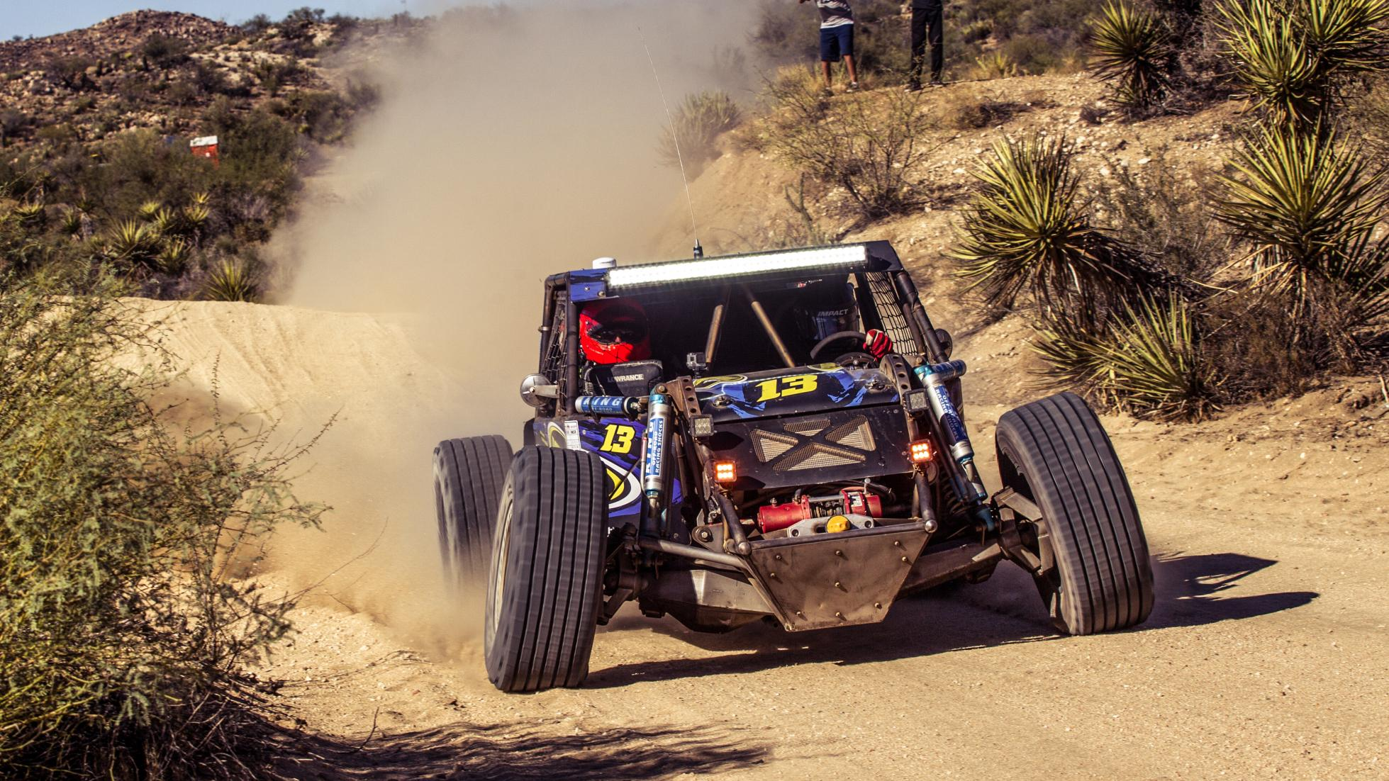 Ultra4 all bottomed out  Photo: topgear