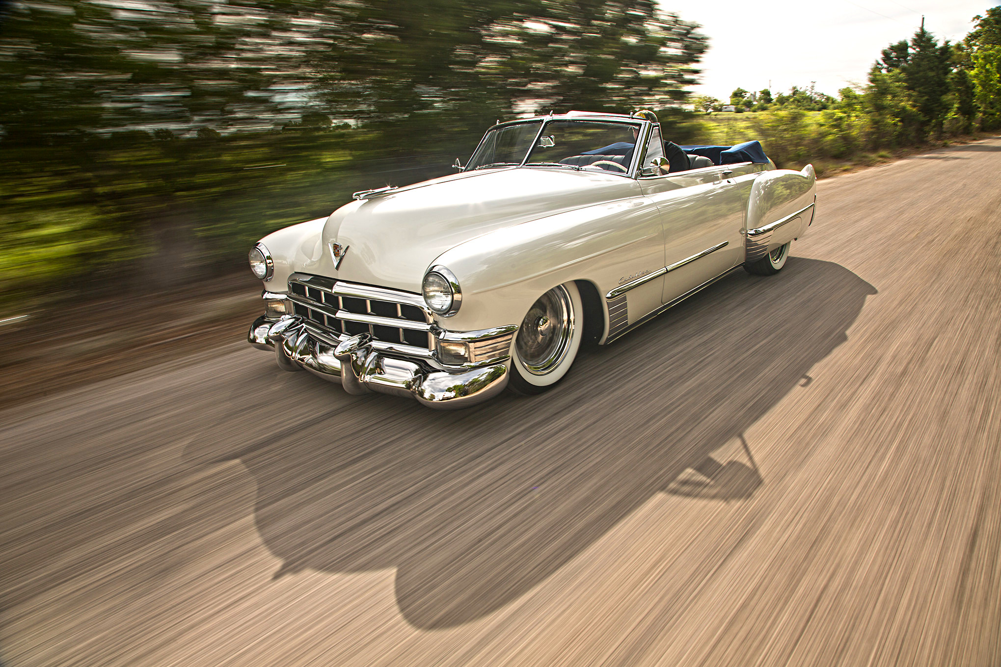 This supercharged 1949 caddy is why restomods are the best for 1949 cadillac 4 door