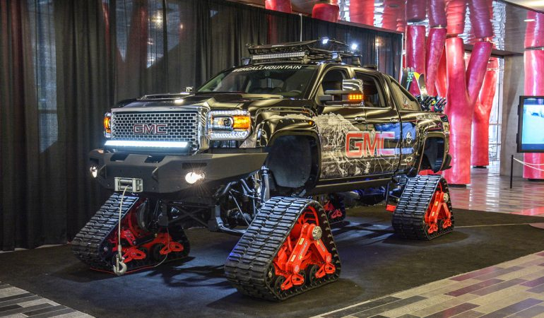 The Sierra ALL Mountain 2.0 is GMC's Copy of Ken Block's RaptorTrax