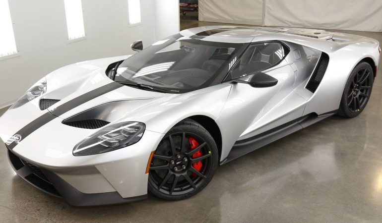 The Ford GT Gets a Factory Lightweight Makeover