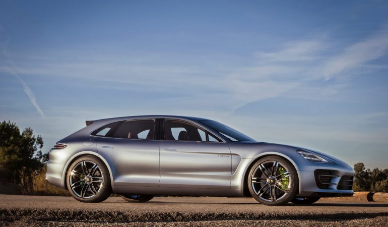 Porsche Introduces 'Shooting Brake' Style to the Panamera Sport Turismo