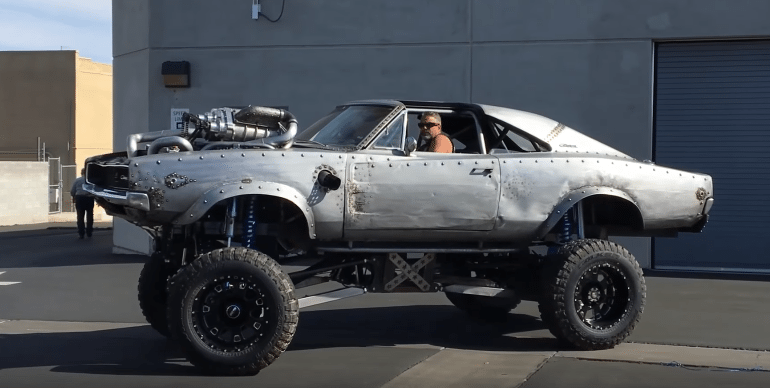 Project OVERCHARGED: Offroad Dodge Charger built by WelderUp