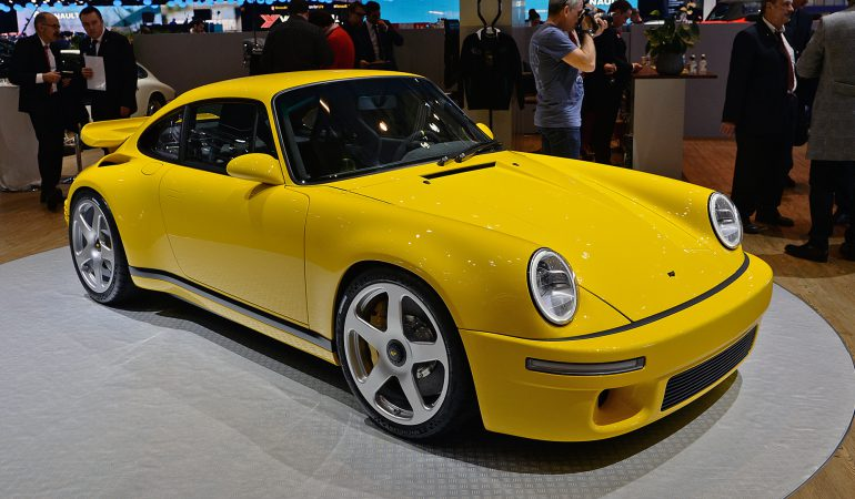 Ruf Unveils the 2017 CTR, a Homage to the Classic 911 Turbo