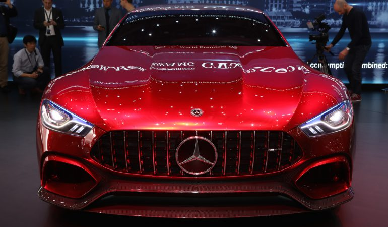 Mercedes-AMG's GT Concept: An 805BHP Muscle Saloon