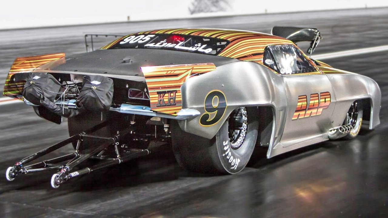 Witness The Sheer Violence Of Launching A 3500hp Camaro Drag Car