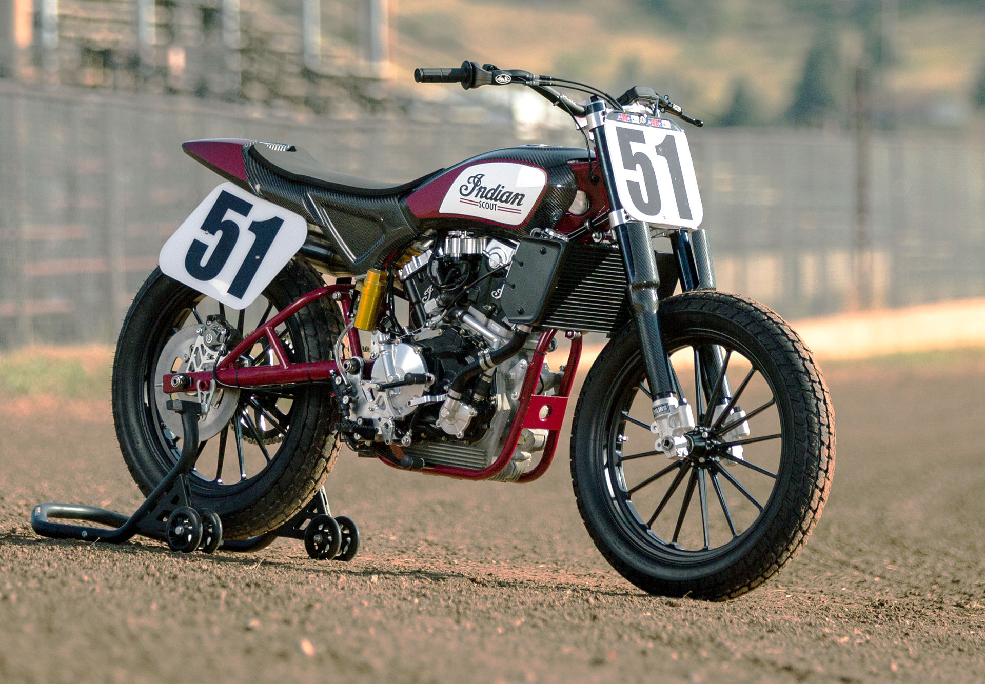 Indian Means Business With Its Return To Flat Track