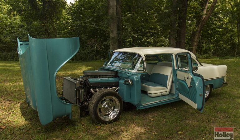 This Restomod 55′ Chevy is a Perfect Example of Why You Shouldn't Judge a Book by it's Cover