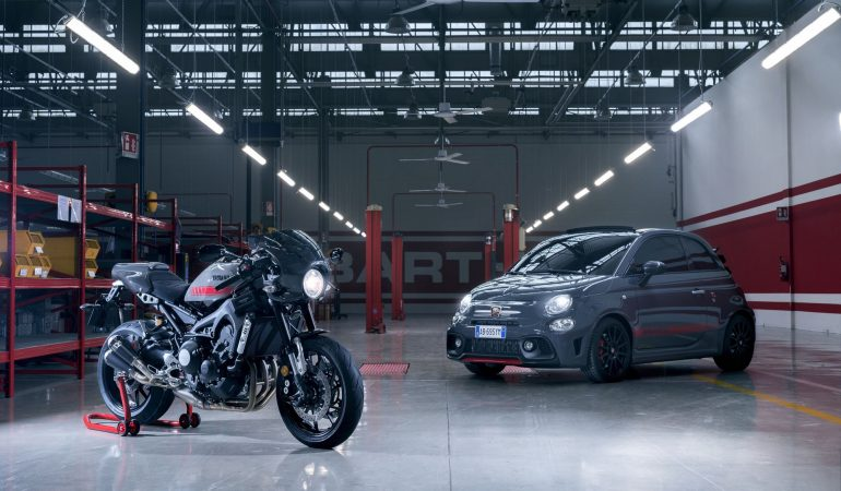 Abarth Has Brought its Italian Flair to the Yamaha XSR900