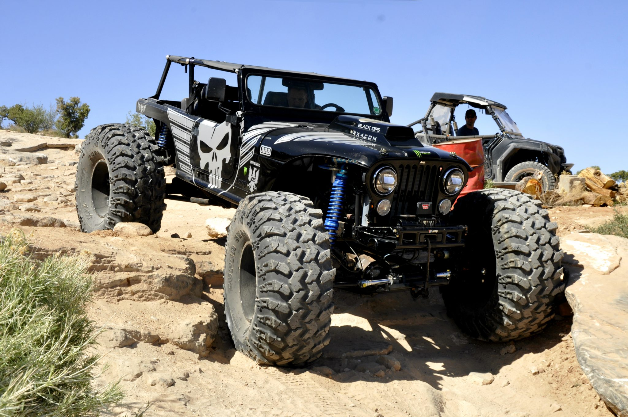 This CJ7 By Black Ops 4x4 is e Badass Jeep And it s No Trailer
